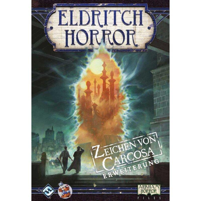 deutsch Eldritch Horror Zeichen von Carcosa Erweiterung