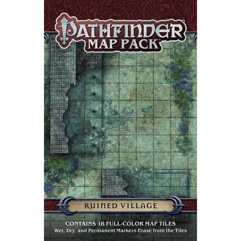 Pathfinder Map Pack Ruined Village 11 69 Latest pathfinder products in the open gaming store. fantasywelt