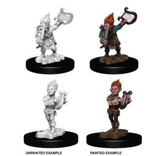 Deep Cuts Unpainted Minis Gnome Female Sorcerer WizKids//NECA WZK73345