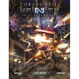 Infinity RPG Core Book (EN), 40,99 € - FantasyWelt de | Tabletop
