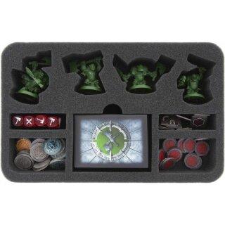 Feldherr Magnetbox grün für Warhammer Underworlds Shadespire:Eisenschädels Jungz