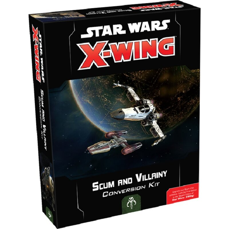 Star Wars X-Wing Second Edition: Scum and Villainy Conversion Kit (EN)
