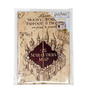 Harry Potter Magnetisches Notizbuch A5 The Marauders Map ...